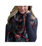 Knit Blanket Scarf