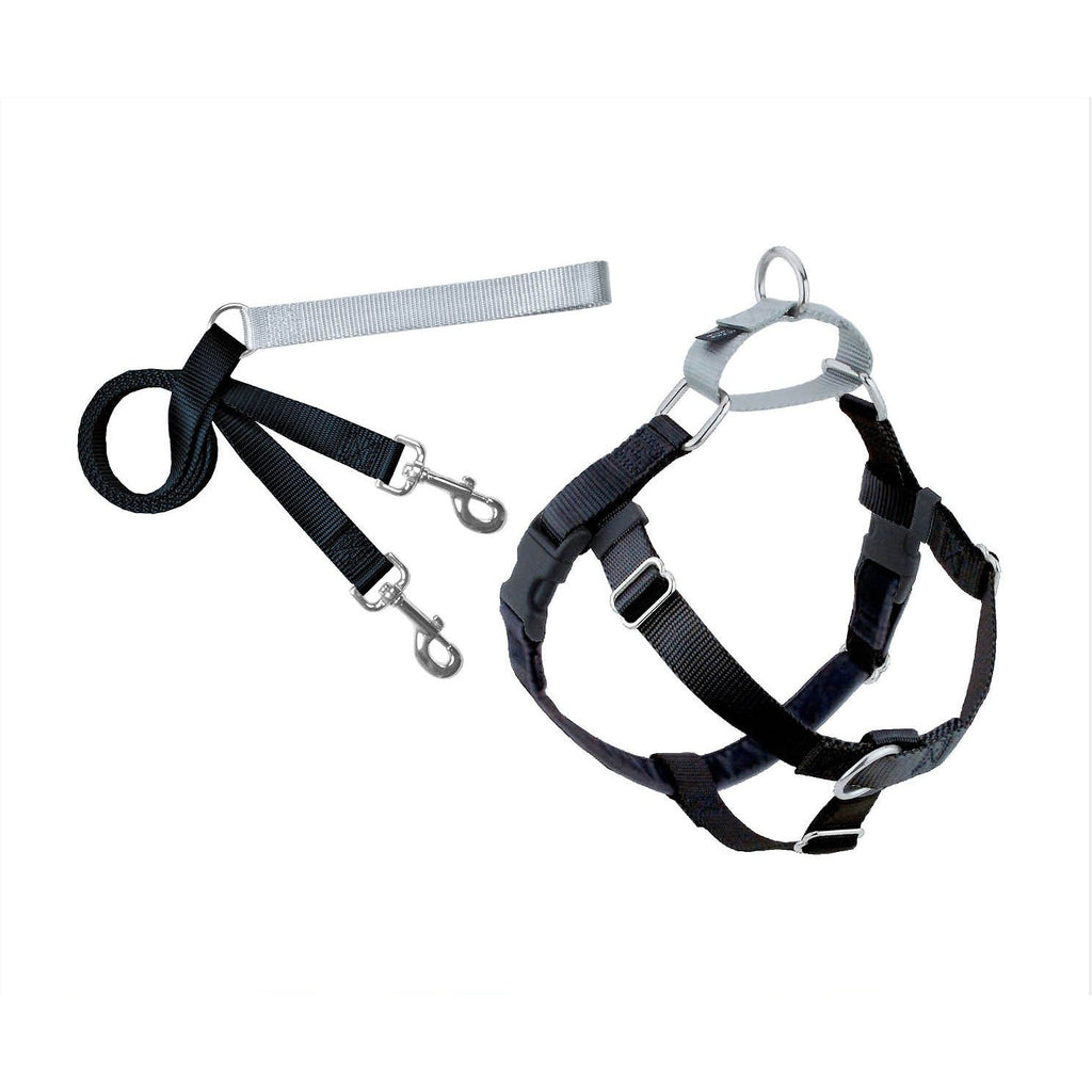 Black Freedom Harness & Leash