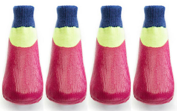 Rubber Dipped Socks - Pink