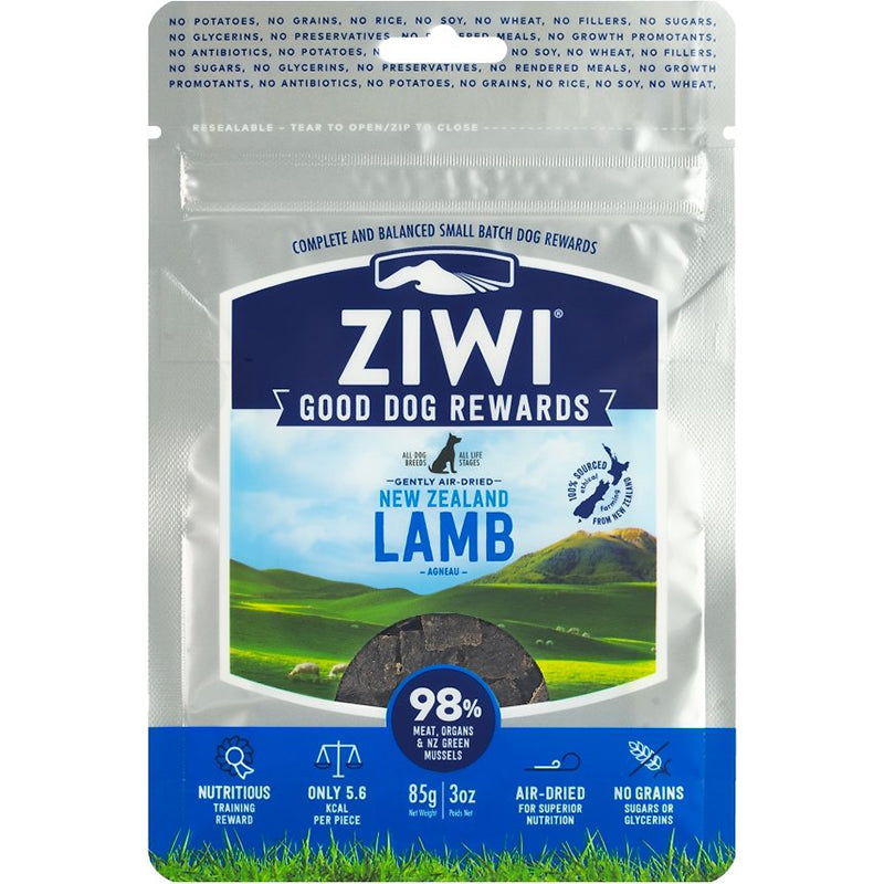 Good Dog Lamb Jerky Treat, 3oz