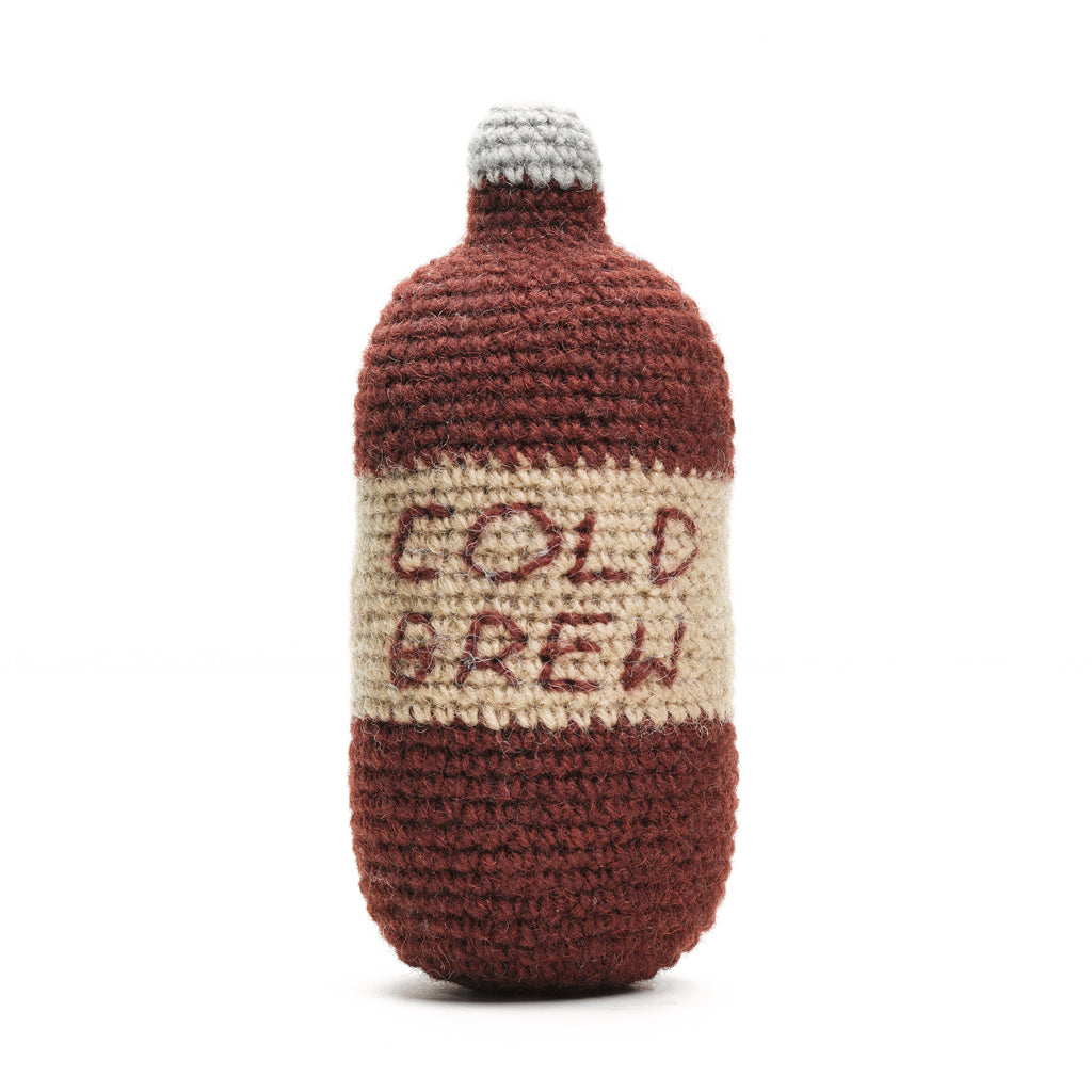 Cold Brew Knit Toy