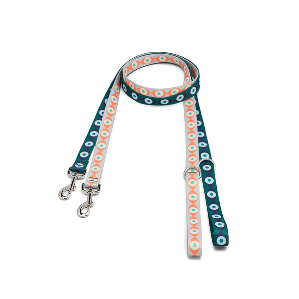 Evil Eye Webbing Leash