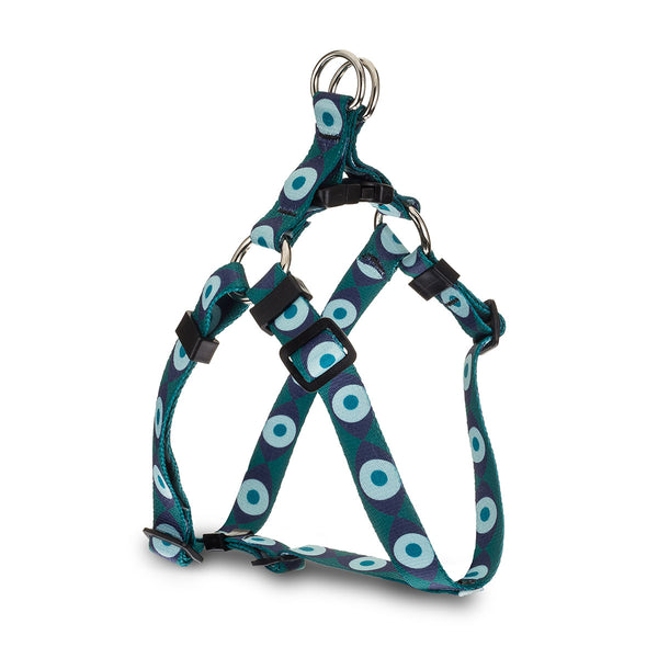 Evil Eye Webbing Harness - Green