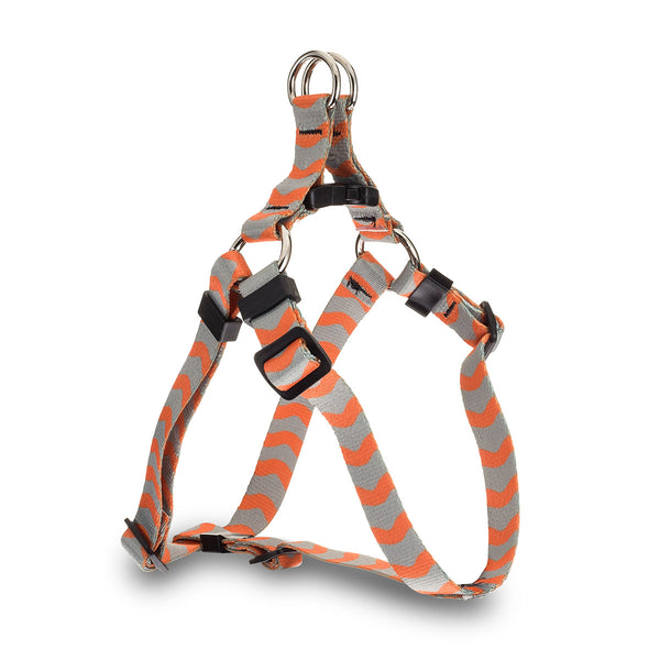 Wavy Baby Webbing Harness - Orange