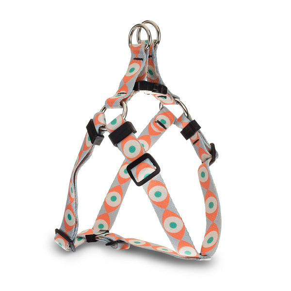 Evil Eye Webbing Harness - Orange