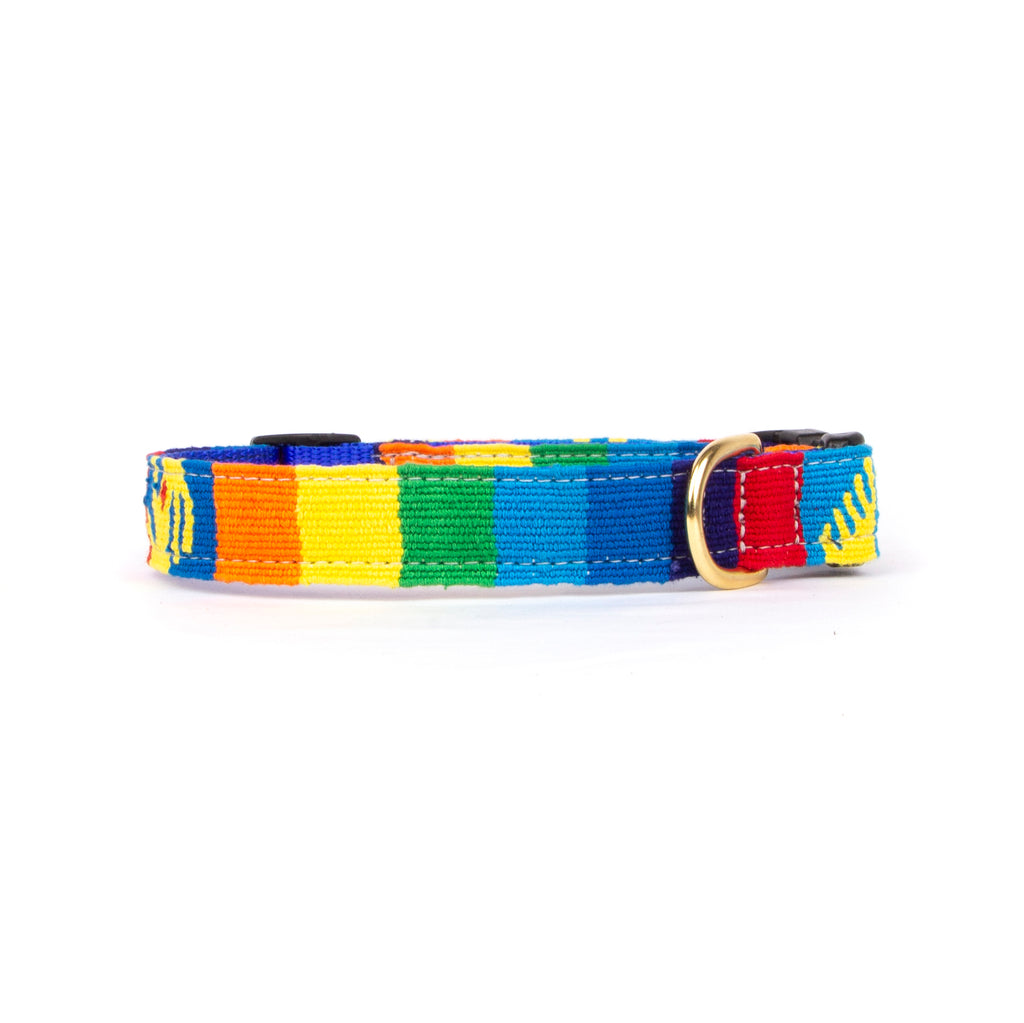 Handwoven colorful collar