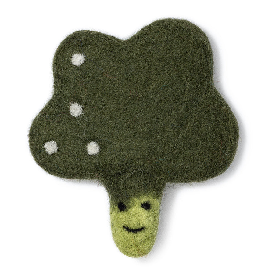 Broccoli Wool Toy