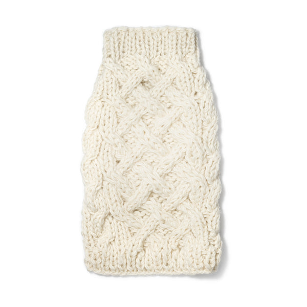 Cable Knit Sweater - Ivory