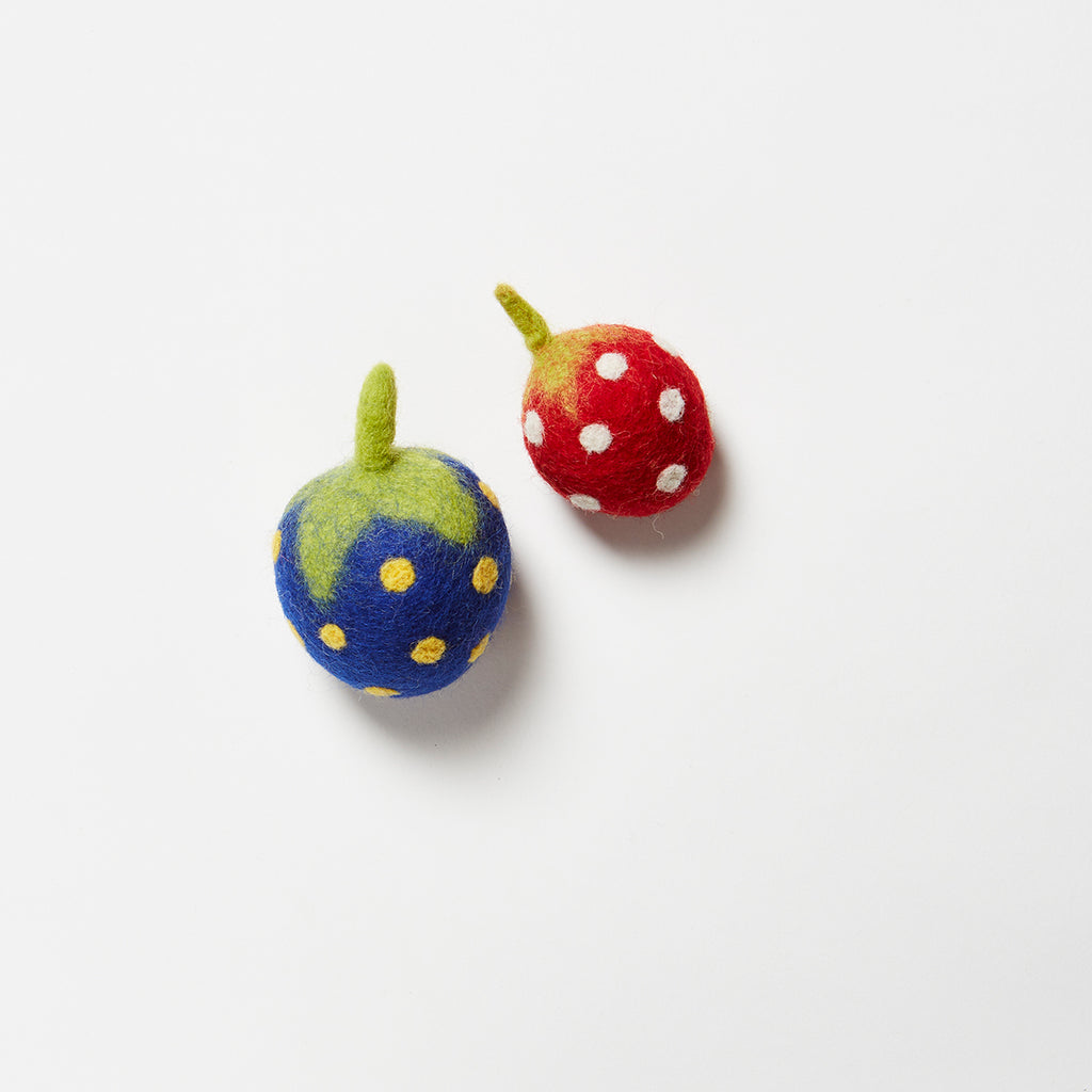 Berry Wool Toy