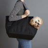 Canvas Pet Tote Black