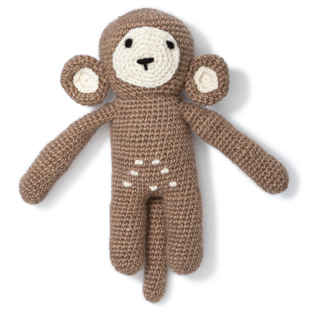 Monkey Knit Toy