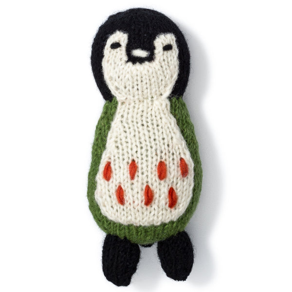 Penguin Knit Toy