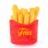 small crinkly french fries dog toy with no stuffing for puppies