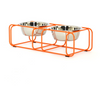 Wire and Dine Stand - Orange