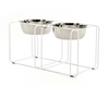 Wire and Dine Stand - White