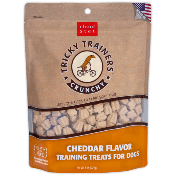 Crunchy Cheddar Training Treats
