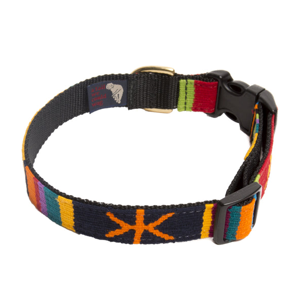 Sun Valley Holiday Hand Woven Collar