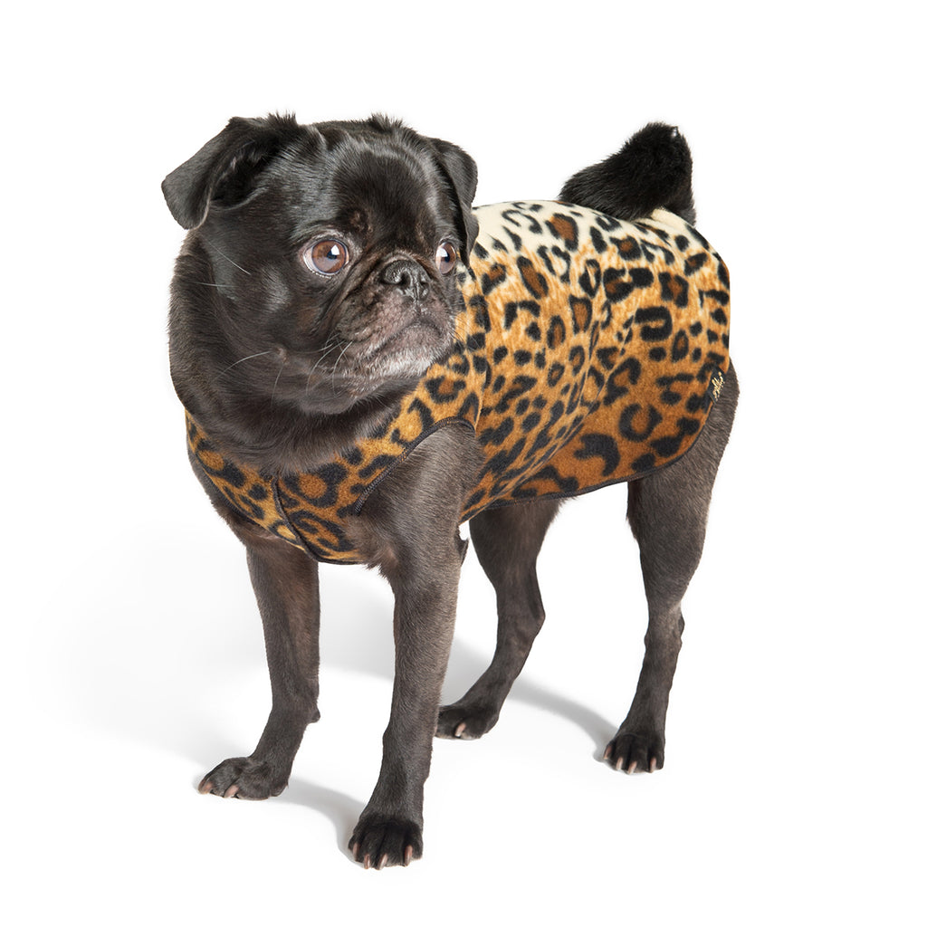 Stretch Fleece - Leopard