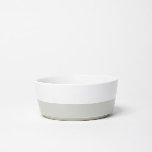 Ceramic Dipped Bowl - Light Grey