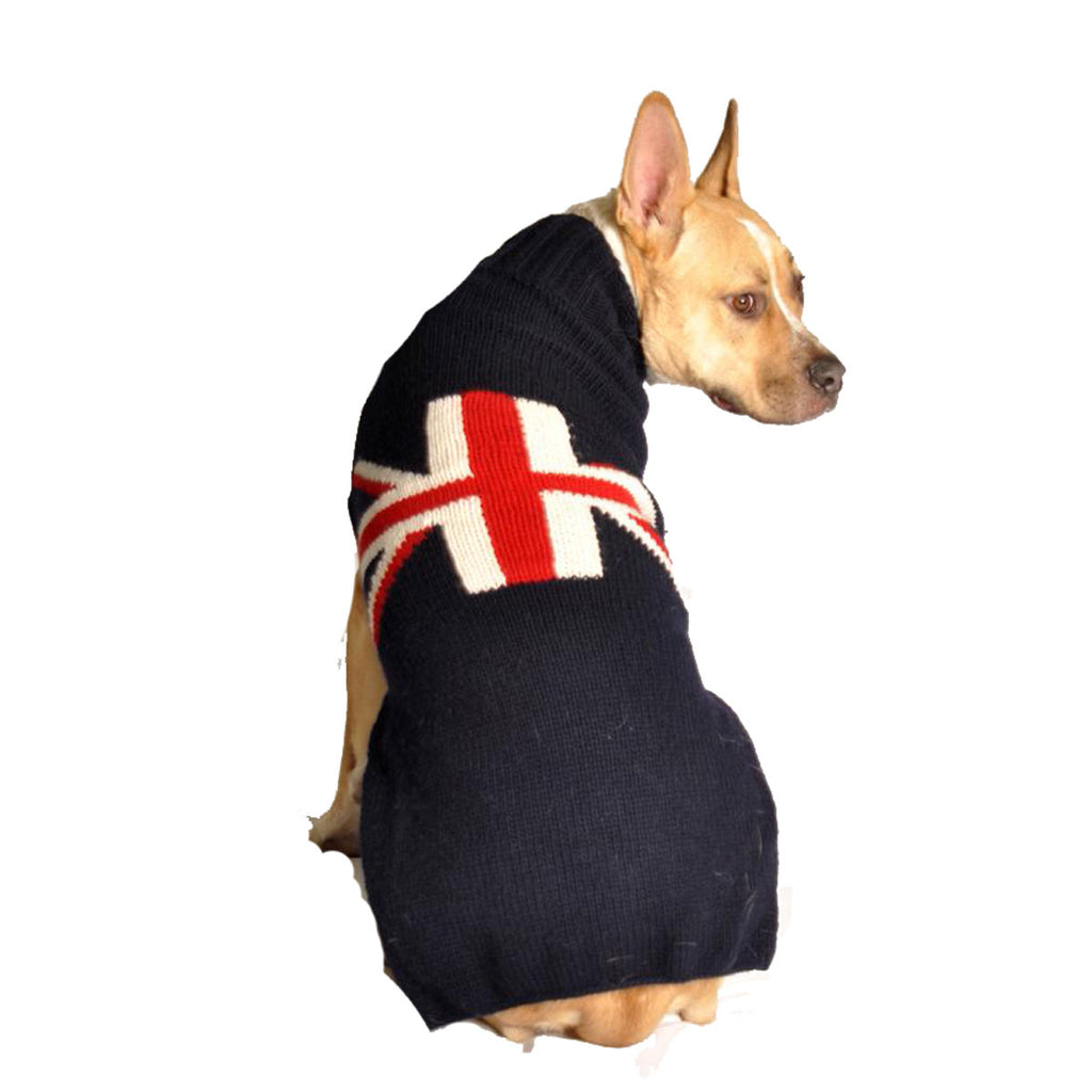 Union Jack Knit Sweater - Navy