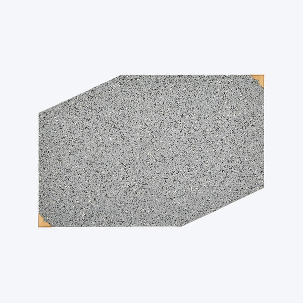 Speckle Rubber Placemat - Grey