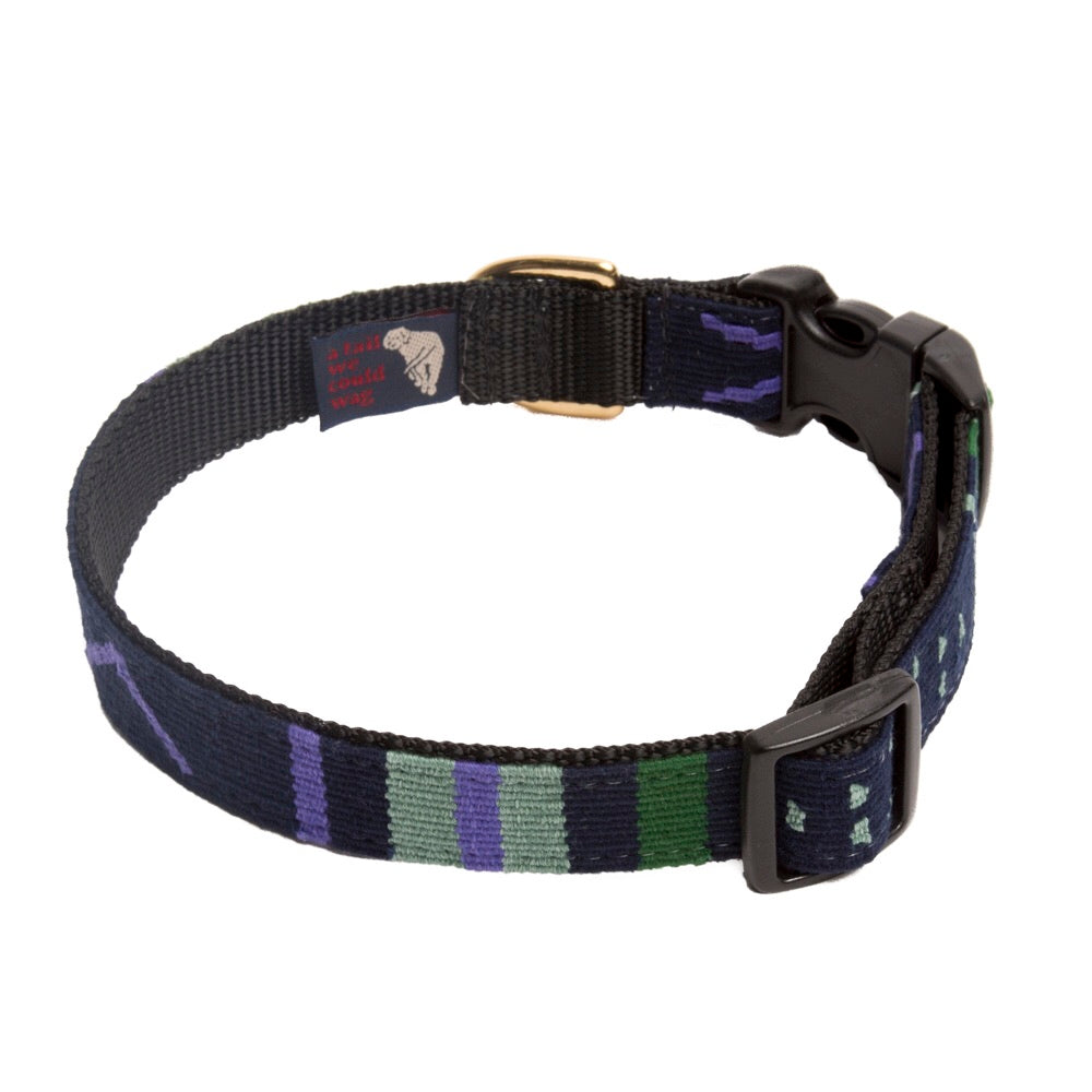 Sun Valley Night Hand Woven Collar