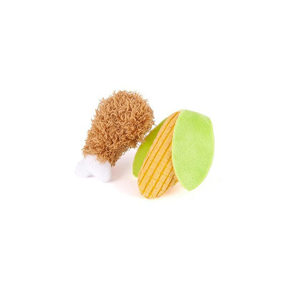 Drumstick & Corn Cat Toy - 2pk