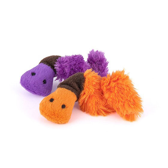 Earth Worm Cat Toy - 2pk