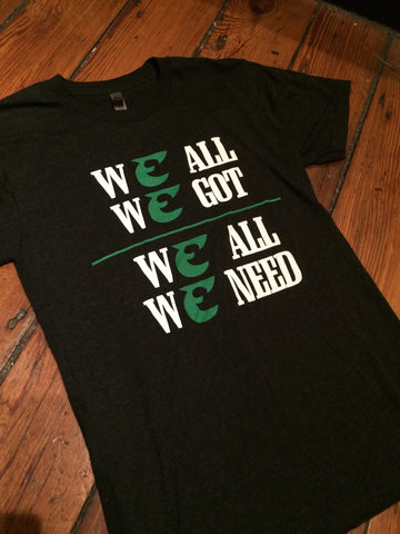 Kids We All We Got We All We Need Eagles Tee