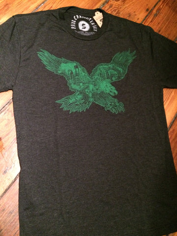 Kids Eagles Paul Carpenter Tee Black