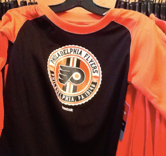 Flyers kids long sleeve logo shirt