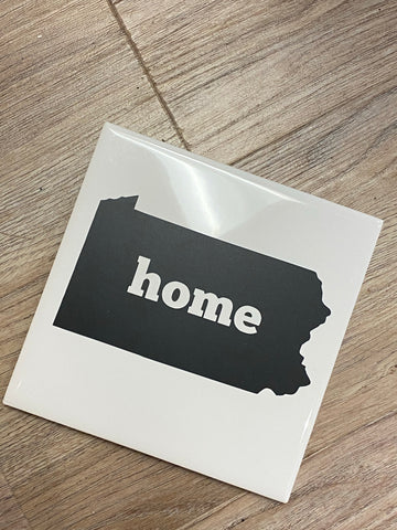 Home ceramic coaster