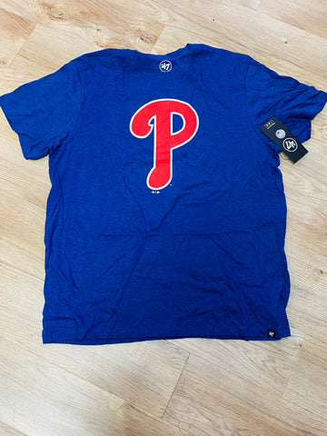 Phillies royal P tee
