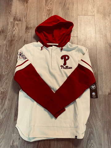 Phillies Short stop hoody with embroidered NL PATCH