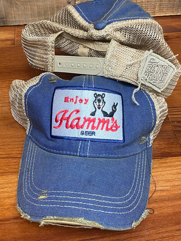 Hamms beer trucker