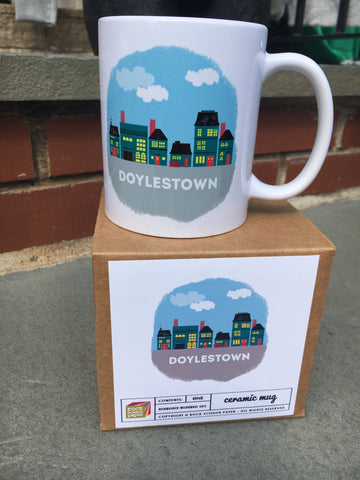 DOYLESTOWN my town mug