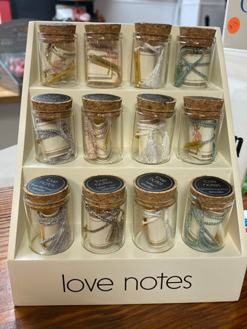 Love notes in a jar bracelets