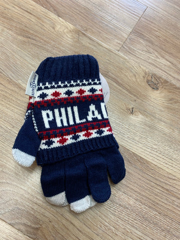 Philadelphia Knit Adult Gloves