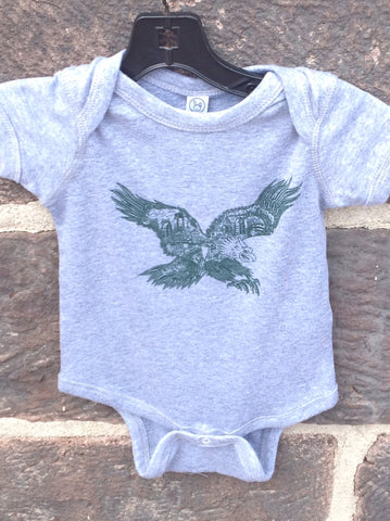 Paul Carpenter Eagles onesie