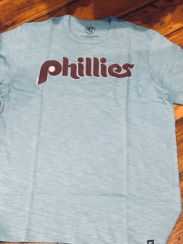Phillies throwback baby blue scrum 47 brand