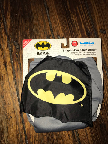 Batman Step in One Diaper