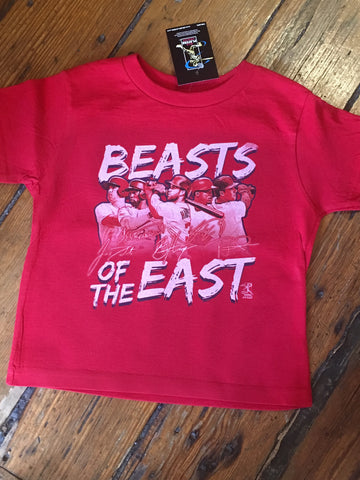 Beast of the East Phillies kids tee