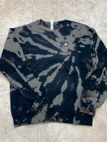 Tie dye Flyers patch crew