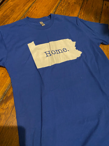 Youth Home PA Royal Tee