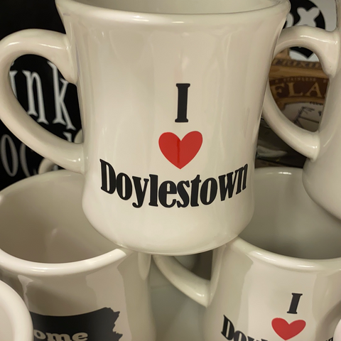 I love doylestown diner mug