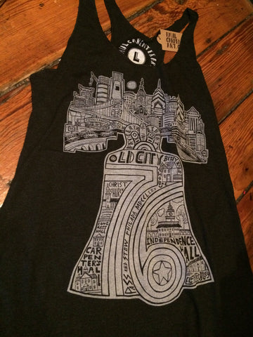 Ladies Philly Liberty Bell 76 Paul Carpenter Tank Top