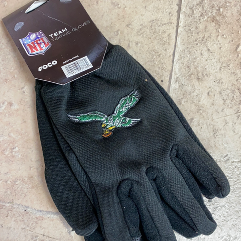 Eagles texting utility Gloves