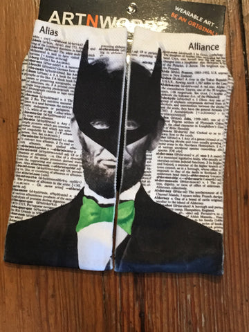 Art N Words Bat Abe