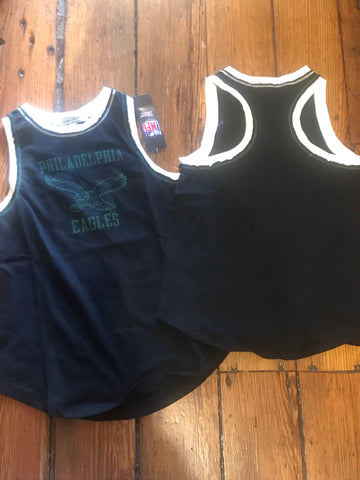 Eagles junk food throwback ladies muscle tank