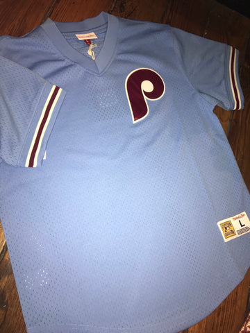 Retro Phillies Mitchell & Ness Pullover Jersey